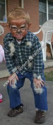 coolest homemade mini werewolf boy halloween costume idea - Homemade Halloween Costume Ideas For Boys
