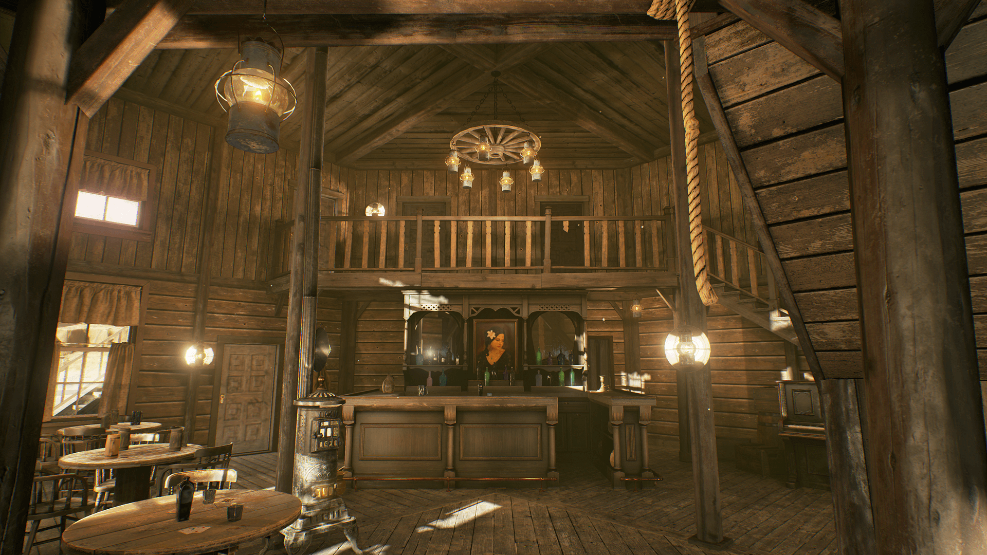 Et Wild West Le Far Western Saloon Unreal Engine