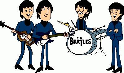 45+ The Beatles Animated Clipart