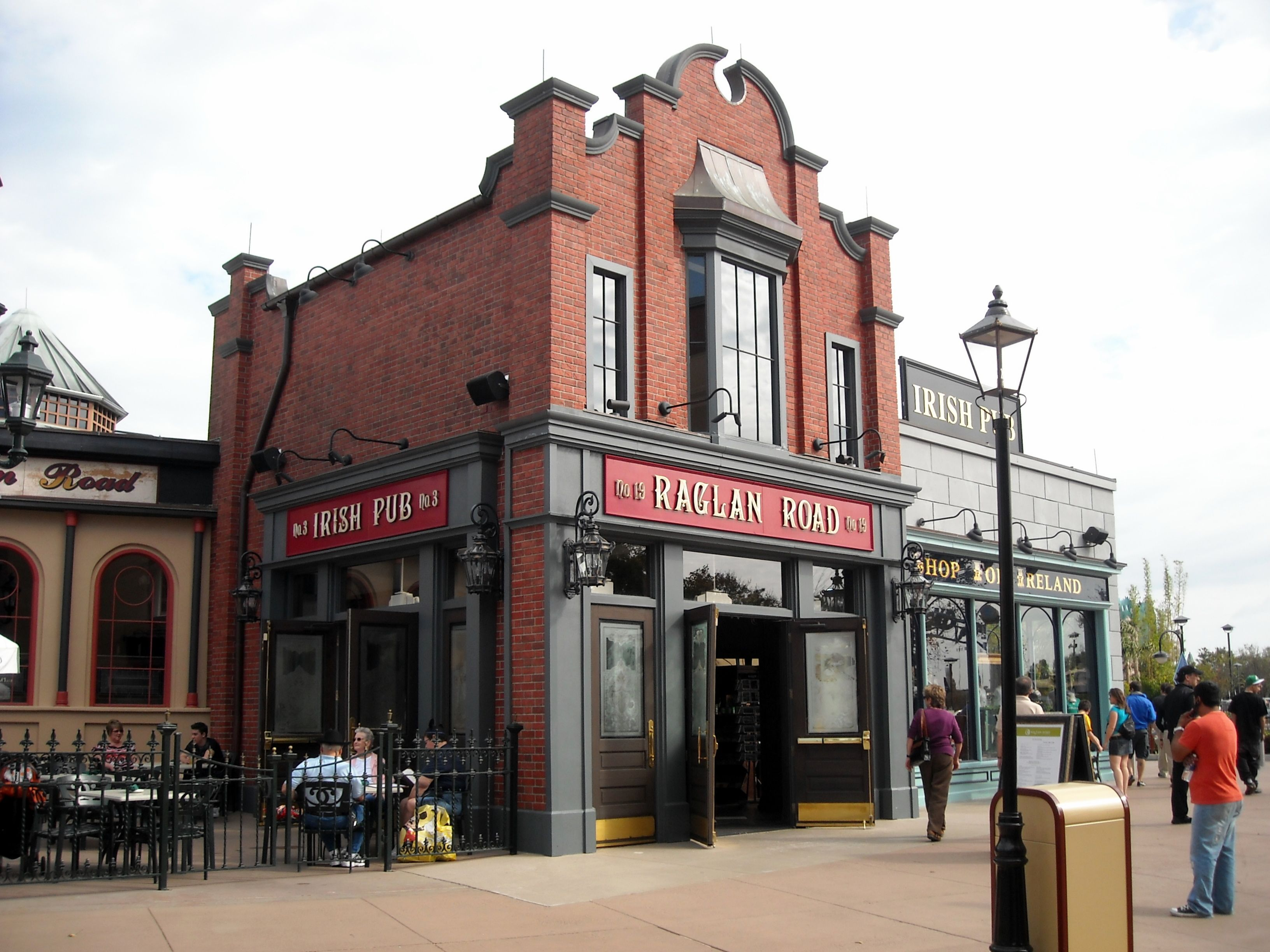 Raglan Road Irish Pub Disney Springs