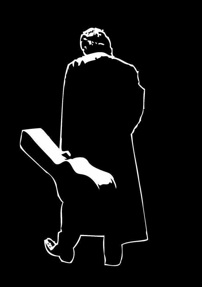 Johnny Cash .... Man in Black   Black   Johnny cash tattoo ...