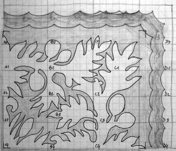 Patron du tifaifai Uru / Tifaifai pattern - Quilting, Patchwork et ...