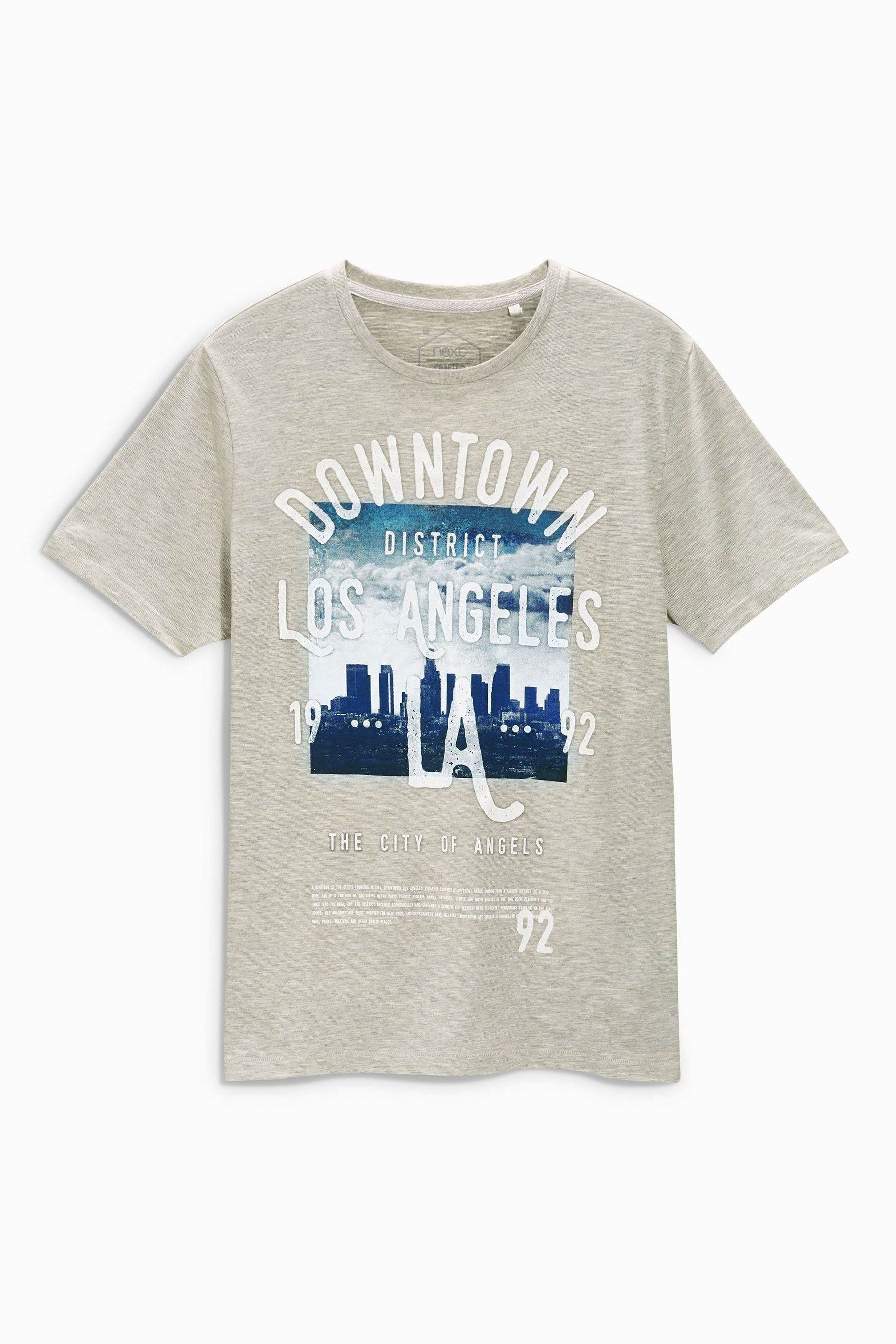 3ab0864c Buy Grey Downtown LA T-Shirt from the Next UK online shop | skate | Next