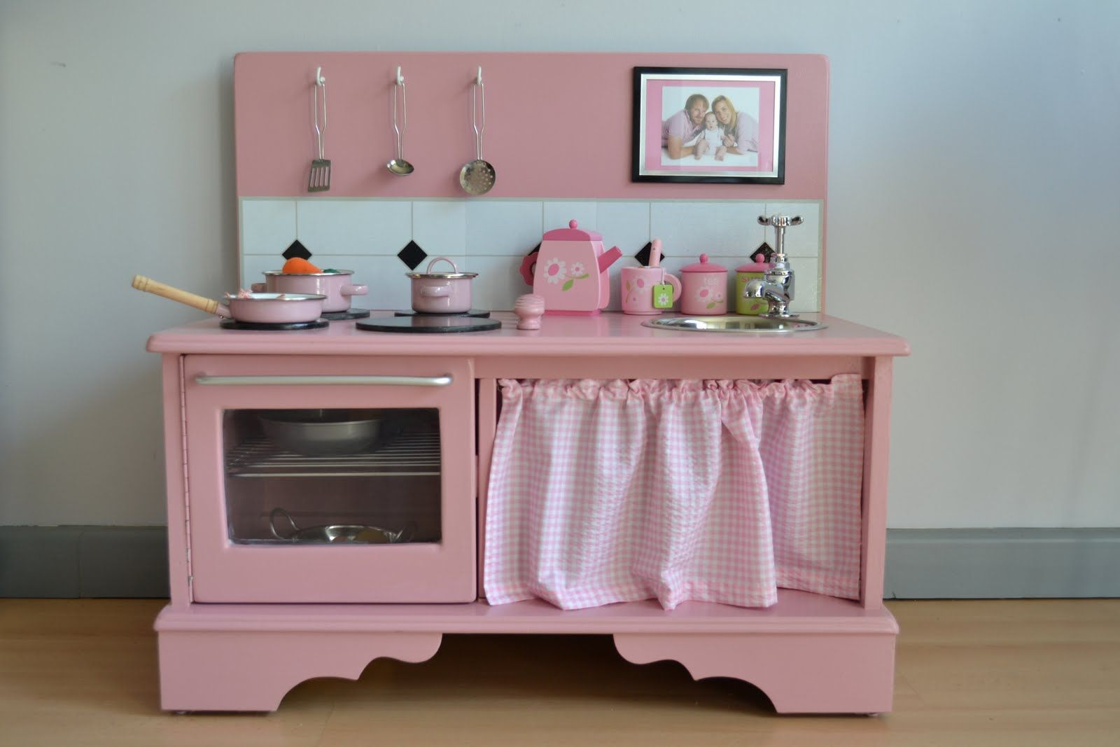 Kitchen Made Out Of Old Dresser Awesome Going To Do It Kids Play Kitchen Wooden Play Kitchen Diy Play Kitchen