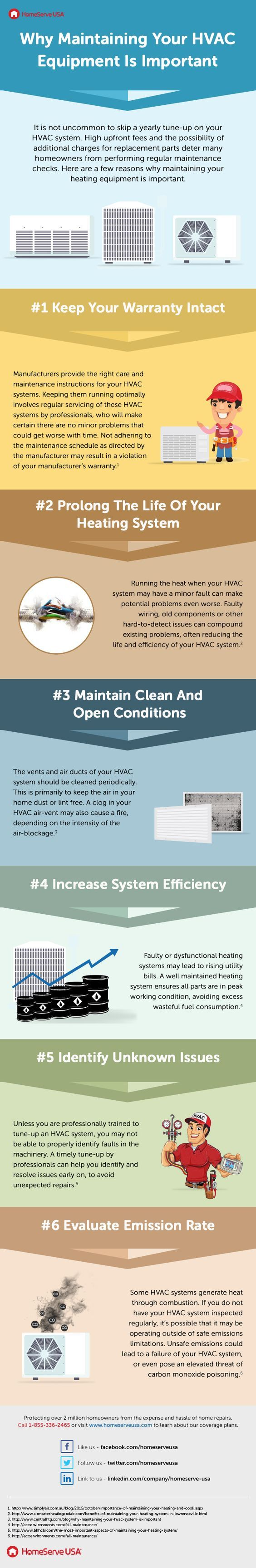 Why Maintaining Your Hvac Equipment Is Important Infographic