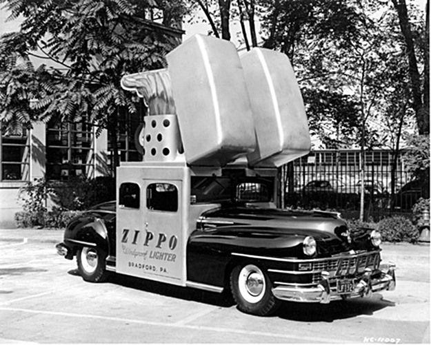 doyoulikevintage:  Zippo car 1947 Chrysler