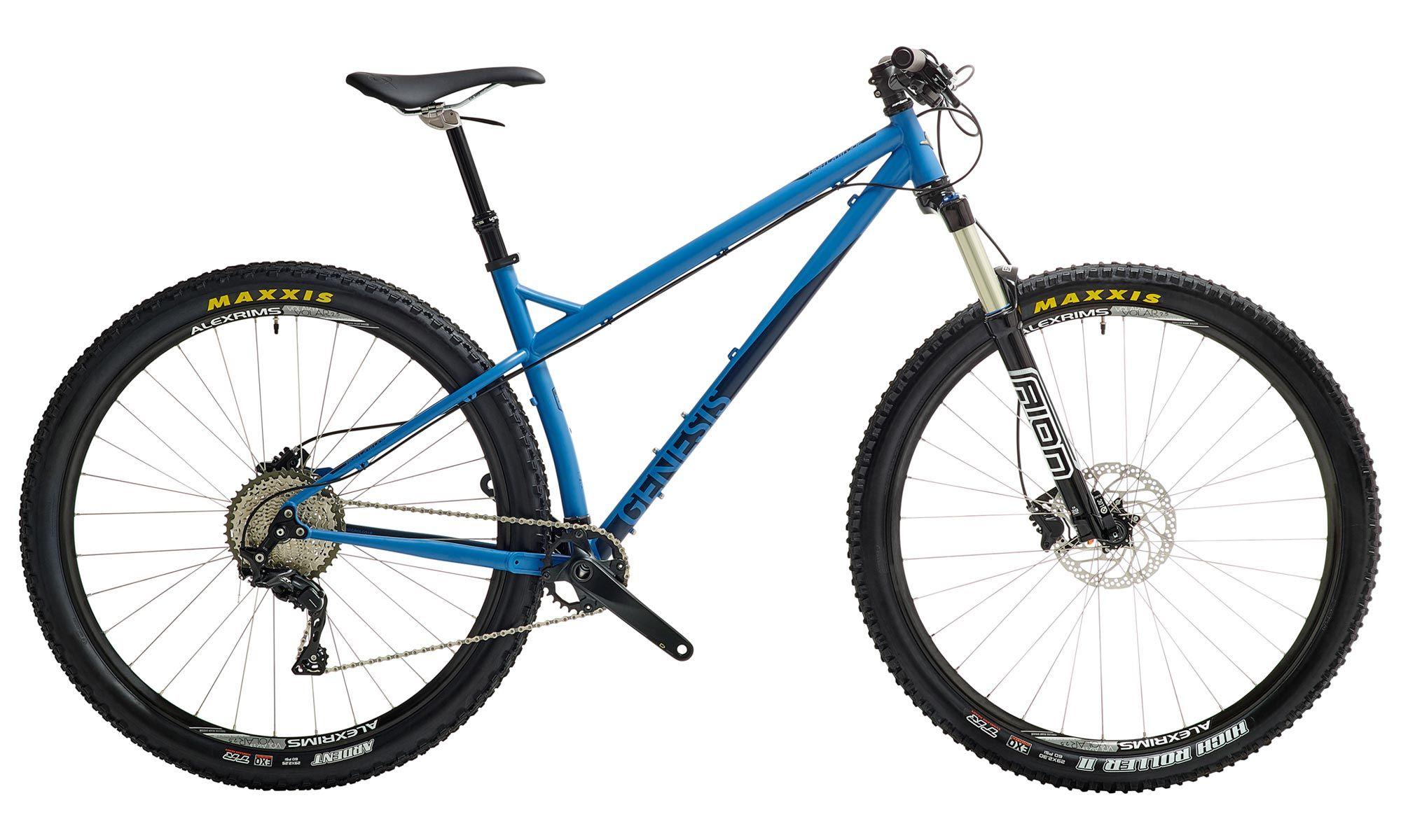 2016 Genesis High Latitude Steel Hardtail Mountain Bike Bike
