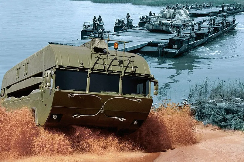 Indonesian Army Receives New Batch M3 Amphibious Rigs in