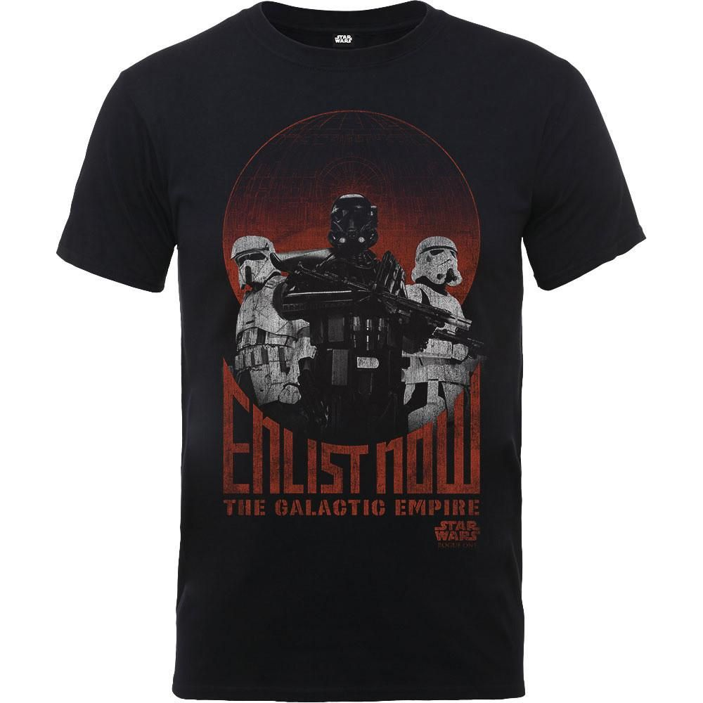 Star Wars Rogue One Enlist Now Kids T-shirt Official ...