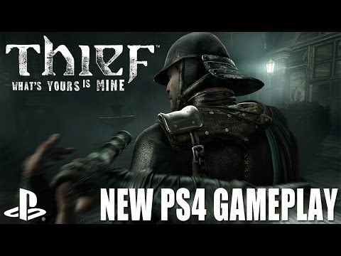▶ Thief on PS4: The Architect's House walkthrough - new PlayStation 4 gameplay 1080 - YouTube