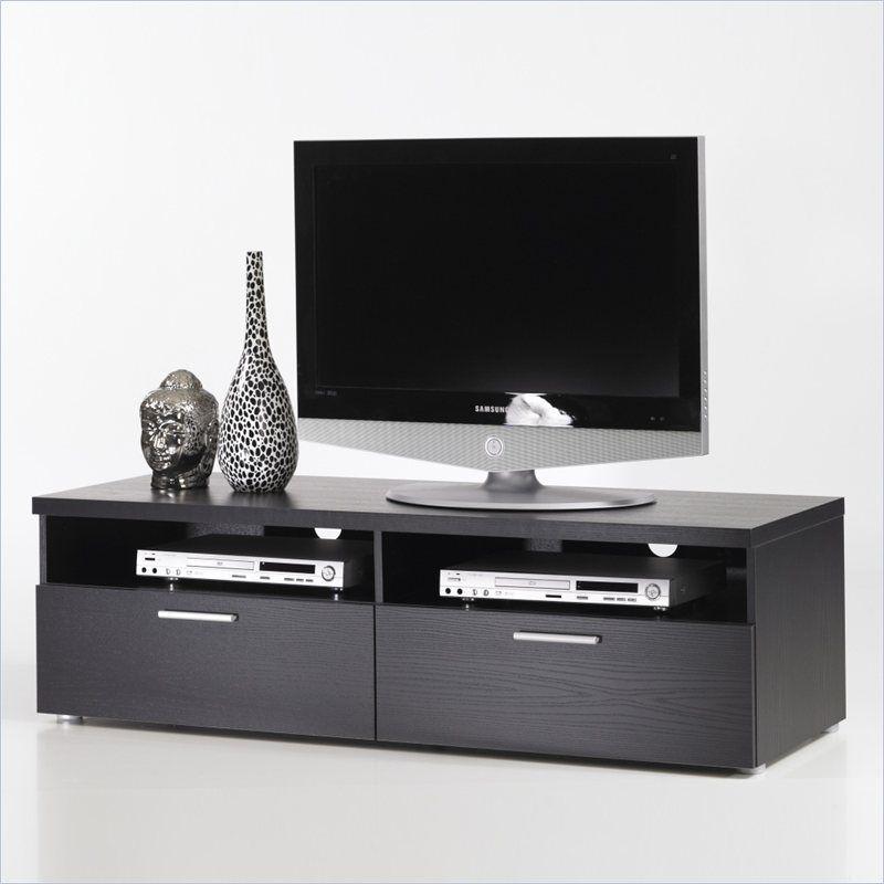 Hayward 55 Tv Stand In Black Woodgrain 7417861 55 Tv Stand Tv Stand Tvilum 55 flat screen tv stands