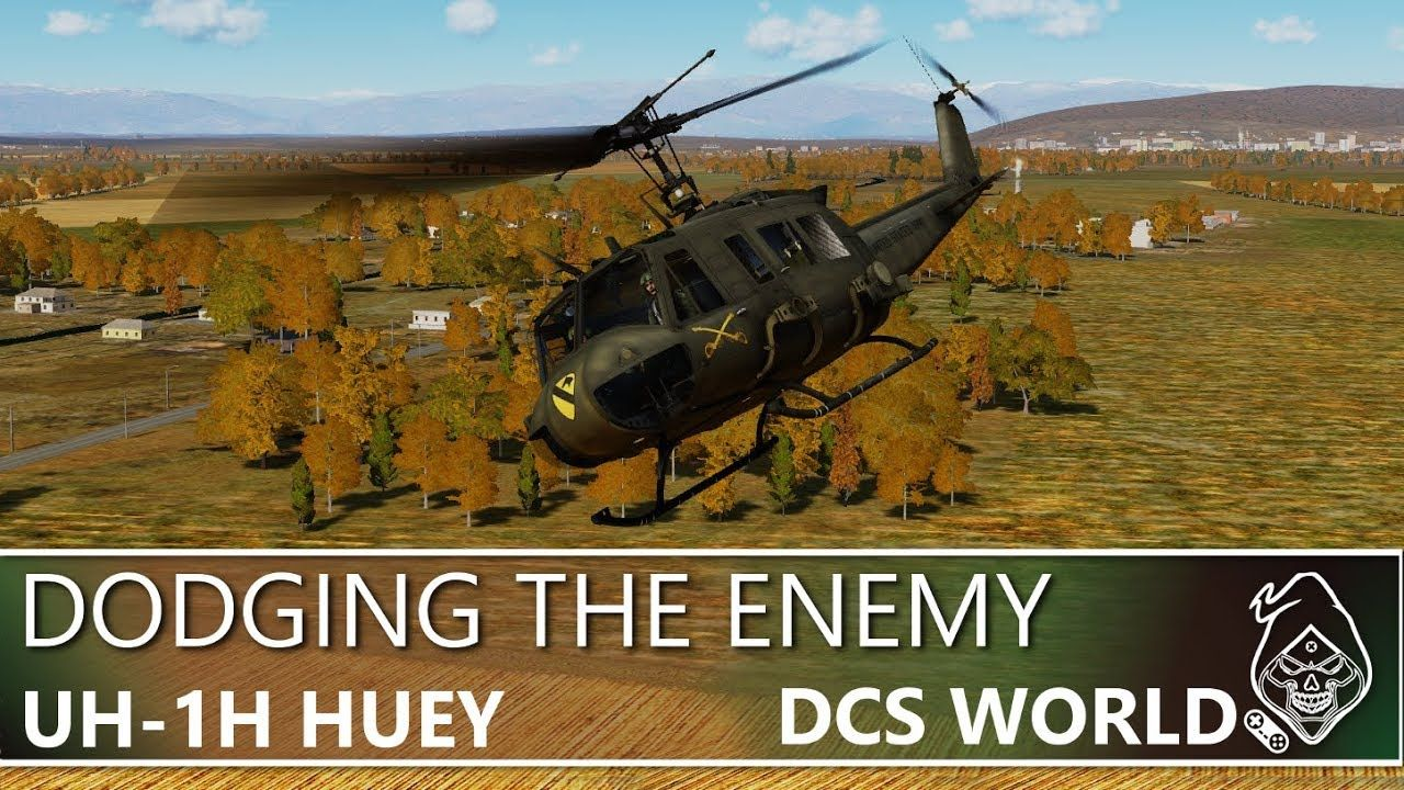 DCS: UH-1H HUEY DODGING THE ENEMY   My Games   I am game, Dodge