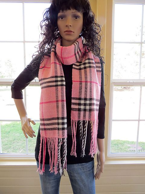 Ravelry Justanotherbrick S Fauxberry Burberry Scarf Weaving