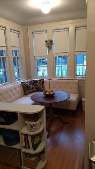 Home Decorators Collection Easton Brown Bonded Leather Breakfast Nook 2168900820 At The Depot Mobile