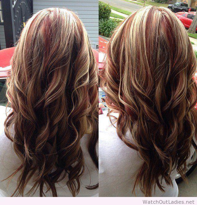 Light Burgundy Blonde
