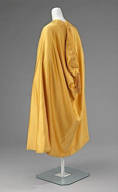 Evening cape  Designer:Liberty & Co.  Date: 1900–1910 Culture: British Medium: wool, silk Accession Number: 2009.300.2510