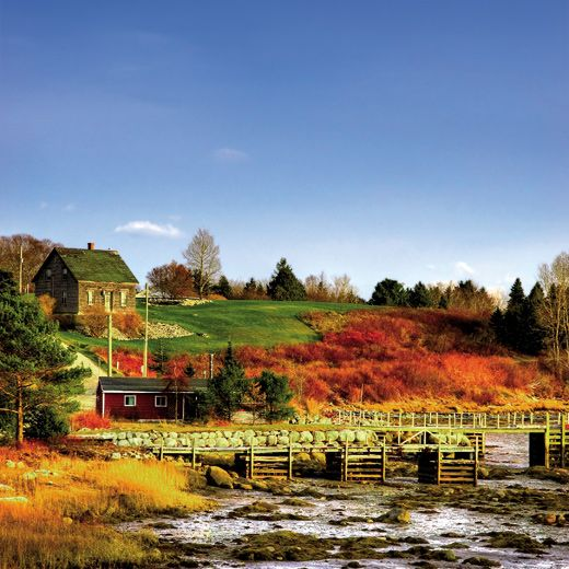 Places To Visit In The Fall On The East Coast: Indian Summer In Kanada. #indiansummer #canada #kanada