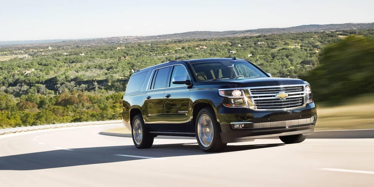 Which Chevrolet Models Offer Awd 4wd Chevrolet Suburban
