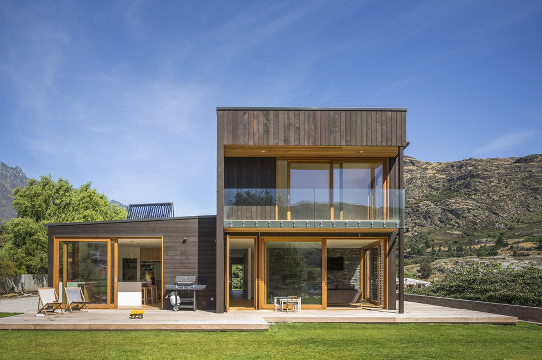 Team Green Architects Frankton Sips House Queenstown Sip House Green Architect Sustainable House Design