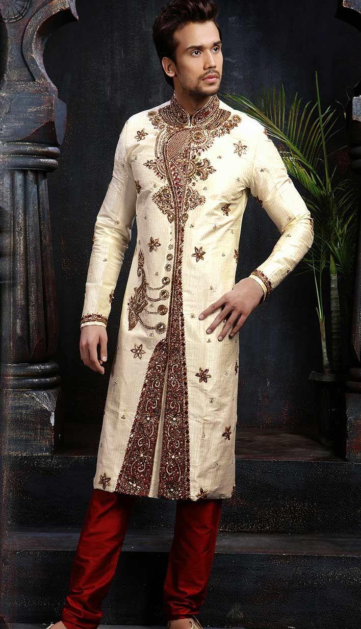 8e136dfad5 Mens Wedding Sherwani   Indian Mens Sherwanis and kurtas   Sherwani ...