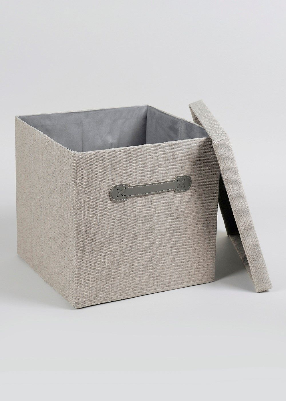 Foldable Fabric Storage Box (33cm X 33cm X 31cm)   Matalan