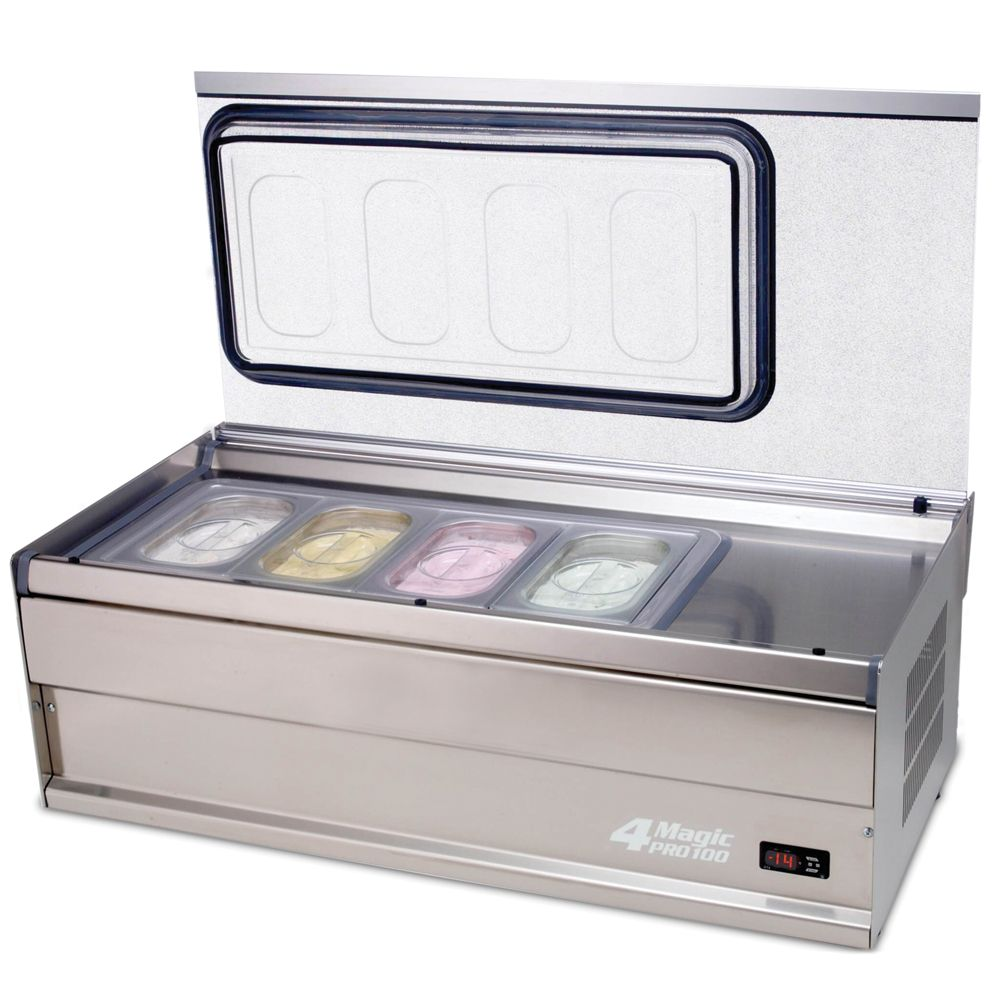 Countertop Ice Cream Maker Ice Cream Display Freezers Gelato