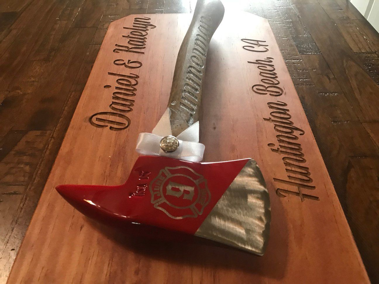 Wedding Cake Cutter Firemans Axe For Firefighter Family Wedding Cake Cutter Wedding Family Wedding Firefighter Wedding