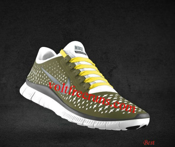 official photos 940fb 89879 Cheapest Mens Nike Free 3.0 V4 Light Bone Reflect Silver Iguana Chrome  Yellow Lace Shoes  Yellow  Womens  Sneakers