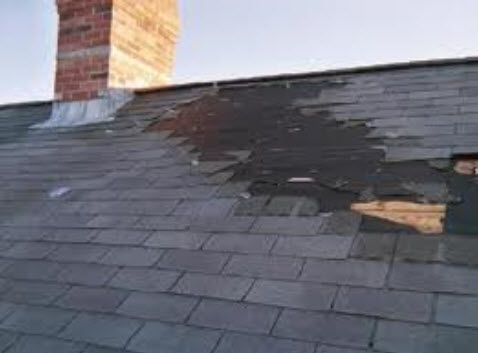 Roof Wind Damage Roof Restoration Roofing Contractors Old Houses