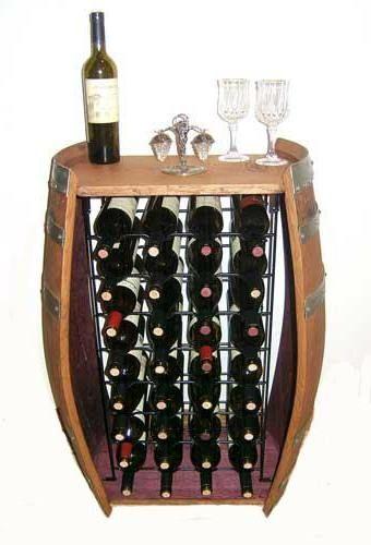 Wijnvat-flessenrek
