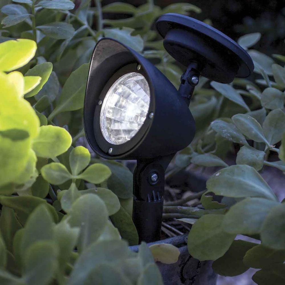 Solar Powered Spotlight With 3 Led Light Garden Outdoor Lamp Spot Lighting Solar Lights Garden Solar Lights Walkway Garden Spotlights