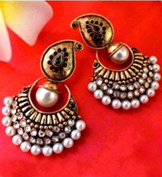 Jhumka earrings online shopping india buy fashion ear rings hoop jhumka earrings online shopping india buy fashion ear rings hoop earrings chandelier earrings aloadofball Image collections