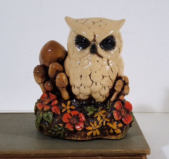 owl figurines for tables!