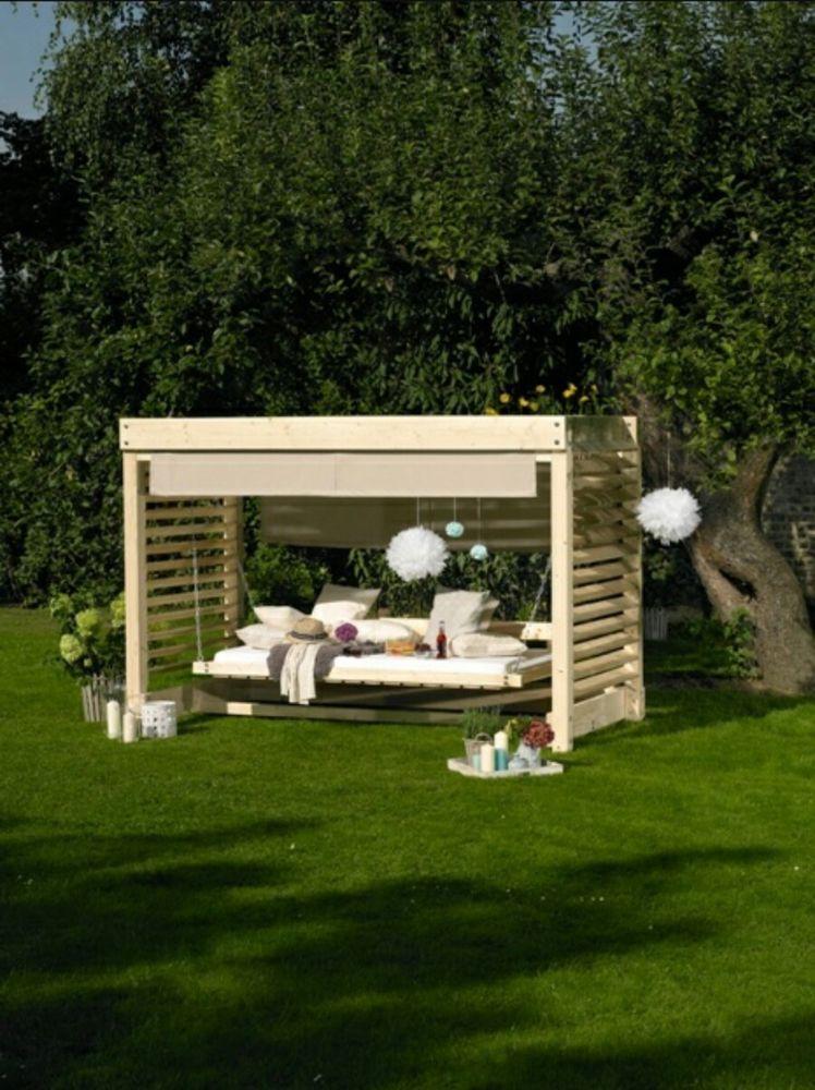 Hollywoodschaukel Holz In Garten Amp Terrasse Mobel Hollywoodschaukeln Ebay Garten Gartenecke Gartenschaukel