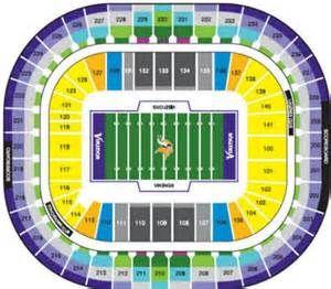 Minnesota Vikings Seating Chart Bing Images