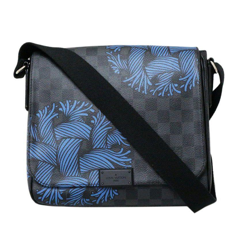 5d6fd2be05bc eBay  Sponsored Louis Vuitton N41714 Shoulder Bag District PM Damier  Graphite FS Excellent  1623