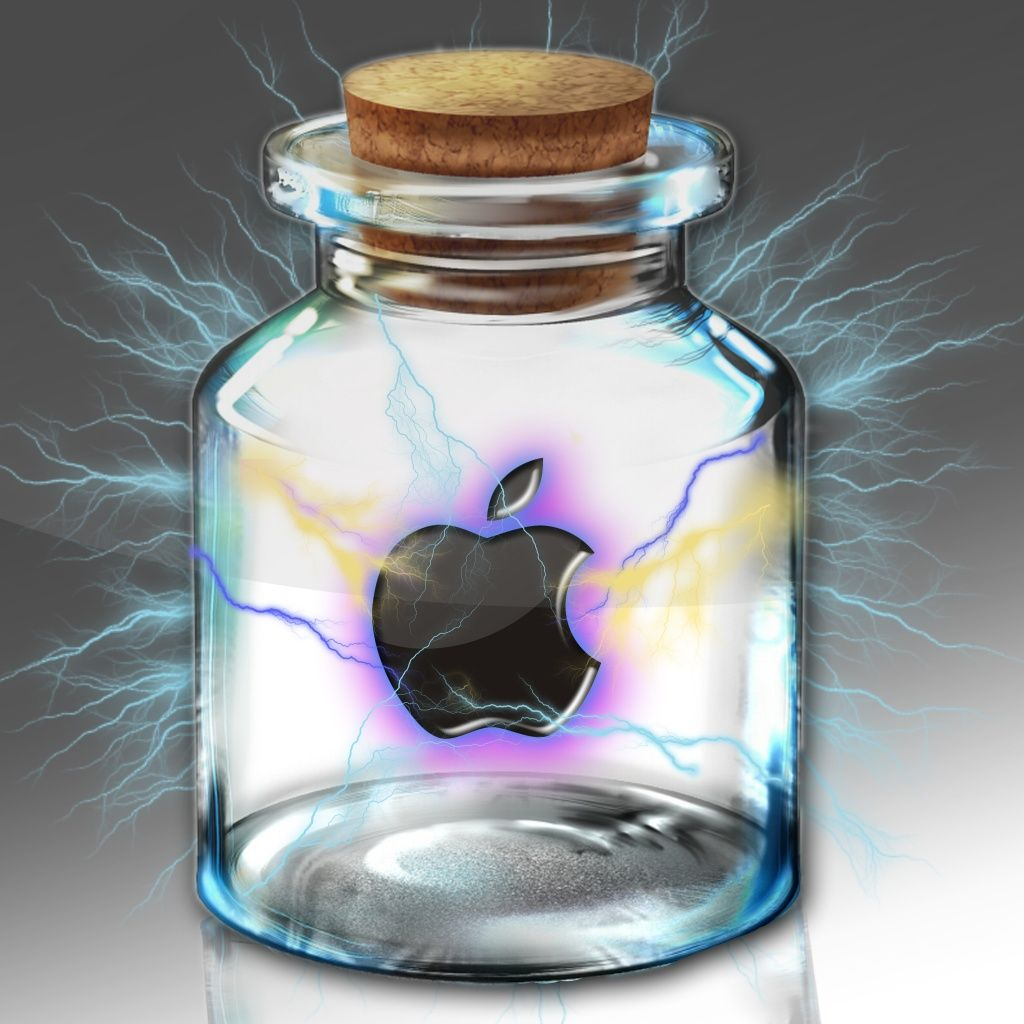 Apple In A Bottle Ipad Wallpaper Hd Wallpaper Apple