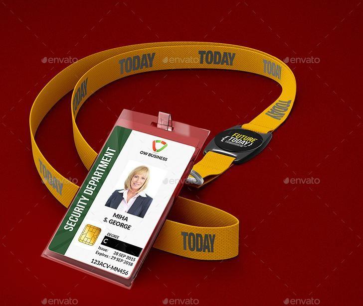 Multipurpose ID Card PSD Template Photoshop Tutorials - id card psd template