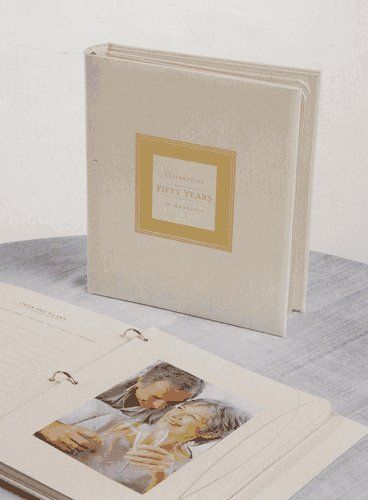 50th Anniversary Memory Book For Wedding Party Jubilee Celebrations By Wellhaven