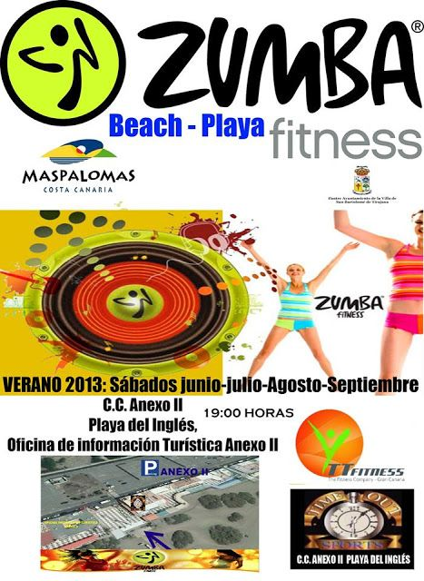 Gran Canaria Blog - News, Events, Reviews: FREE Zumba Classes for Summer in Gran Canaria