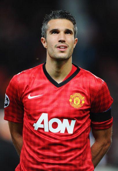buy online 8caa8 eb75d Robin Van Persie in Manchester United v Galatasaray - UEFA ...