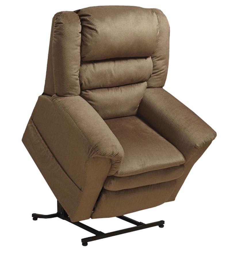 Catnapper preston power lift lay flat recliner with