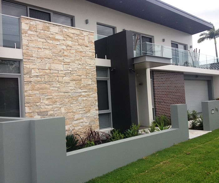 Dry-stacked-limestone-house-facade