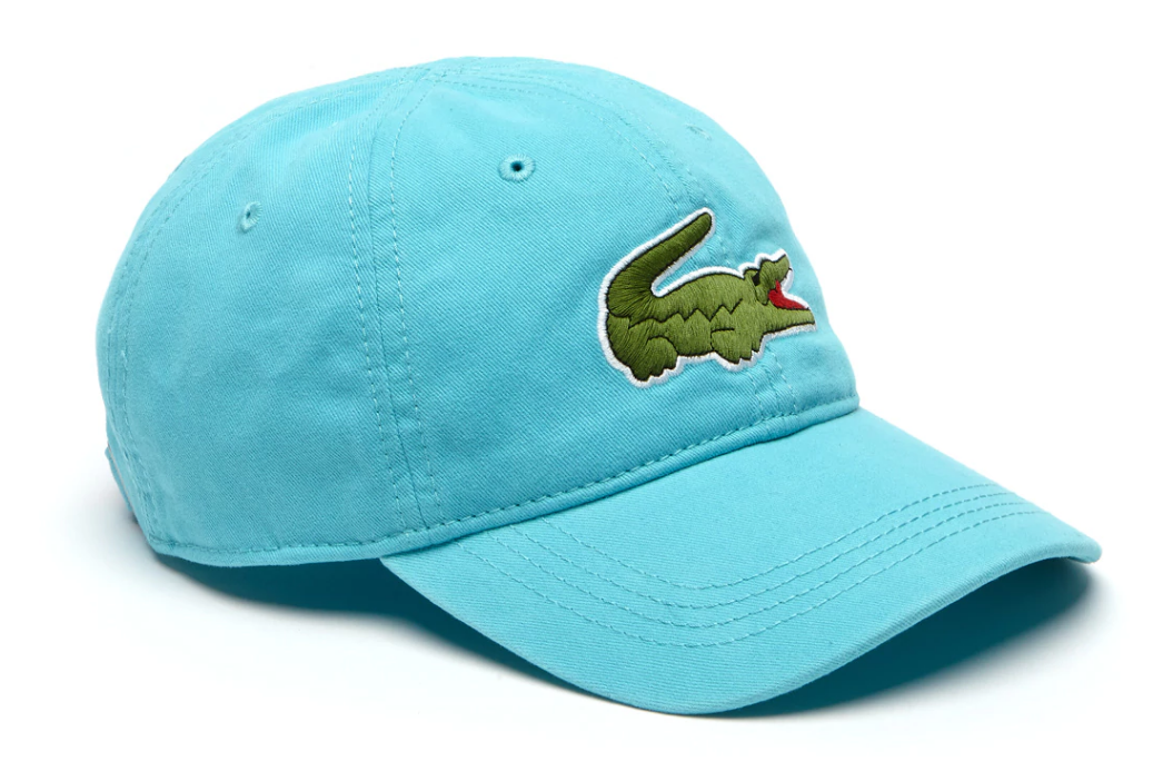 fffa07916e2 Lacoste Men s Big Croc Gabardine Cap (RK8217 51 XA4)
