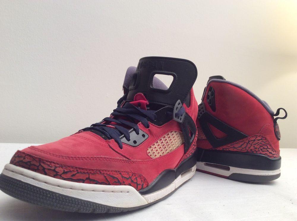 reputable site 483c8 cf14d Nike Air JORDAN SPIZIKE RED TORO BRAVO Mens Basketball Shoes Size 11   315371 601  Nike  BasketballShoes