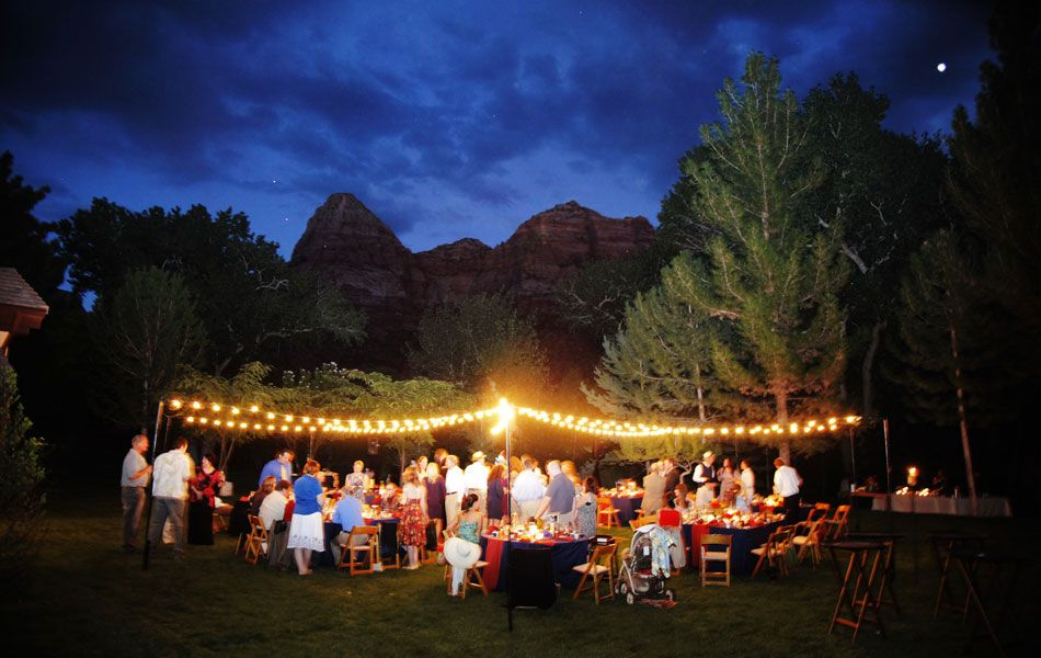 Zion National Park Weddings at the Cliffrose Lodge Gardens