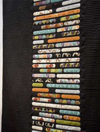 London Tube - by Zen Chic - Quilt Pattern - $15.00 : Fabric Patch ... : tube quilt pattern - Adamdwight.com