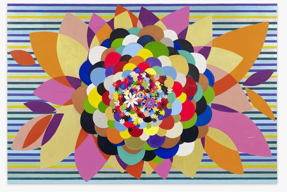Flowers by Beatriz Milhazes - Brazilian artist. Born in ...