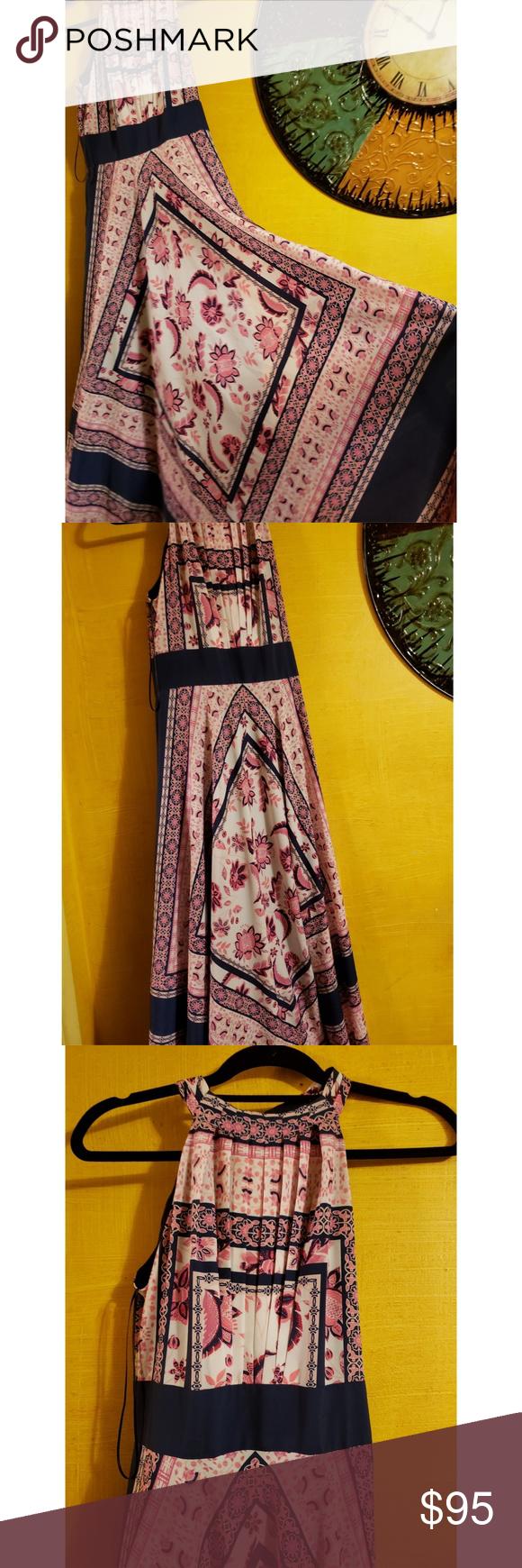 eliza j scarf maxi dress nwt my posh picks pinterest maxi