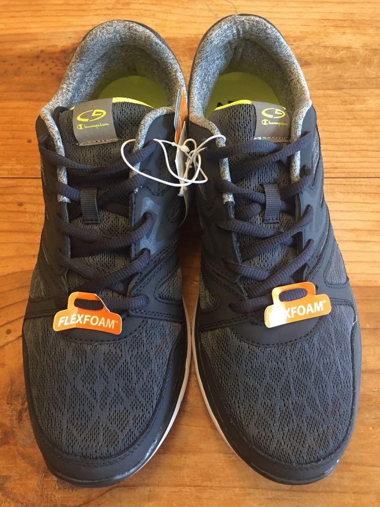34cd0f6e595a3 Flexfoam Lightweight Running Shoes. Black Athletic Shoes.